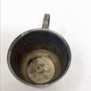 Vintage Kitchen - Vintage Leonard silver plated teacup